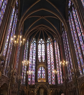 Inside Sainte-Chapelle, Paris