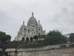 Basilica of Sacre Coeur in Paris